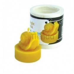 Moldes Molde caracol    Molde de silicona para elaborar velas de cera Forma - caracol Altura aprox. 40 mm Mecha recomend