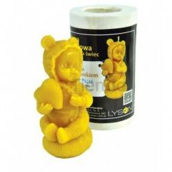 Moldes Molde niño con corazón    Molde de silicona para elaborar velas de cera Forma - niño Altura aprox. 110 mm Mecha r