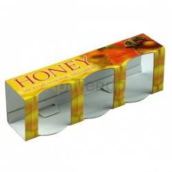 Caja decorativa 3 botes de 35ml (50g de miel)