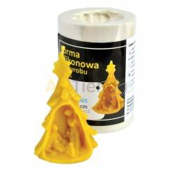 Moldes Molde Nacimiento de Jesus    Molde de silicona para elaborar velas de cera Forma - Escena del nacimiento Altura ap
