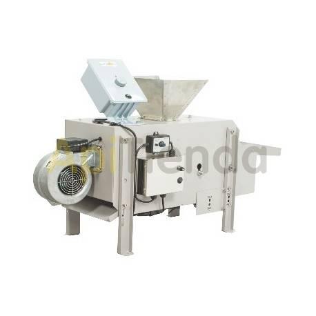 Secaderos y limpiadoras de polen Limpiadora de polen - Línea ÓPTIMA  Datos técnicos: • Fabricada en acero revestido. • Las pa