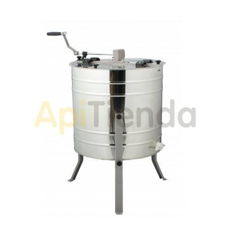 Extractores Extractor radial-manual, 12C 1/2 Alza Dadant MINIMA    Extractor radial Ø500mm. Altura del tanque 600mm Capacid