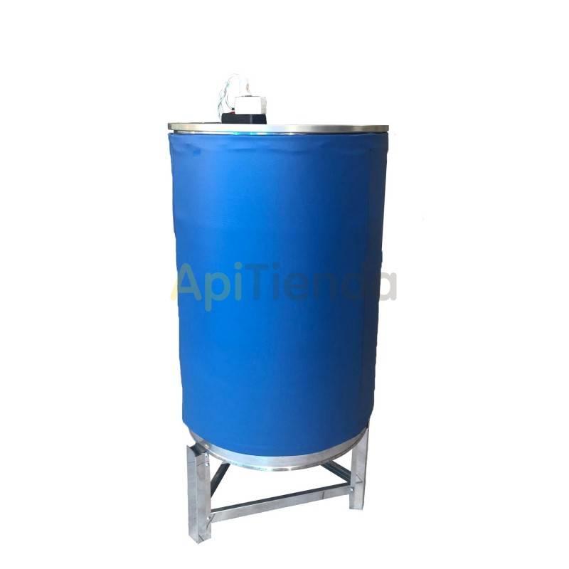 Maquinaria Manta calefactora para bidon de 200 L Las mantas calefactoras son sistemas especiales de calefacción, diseñados para