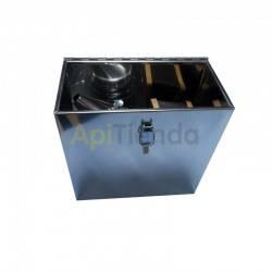 Ahumadores Caja de transporte para ahumador, inoxidable Caja fabricada en acero inoxidable, ideal para transportar el ahumador e