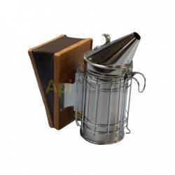 Ahumadores Ahumador inox con protección Fabricado en acero inoxidable Altura 27,5cm Diámetro 10cm