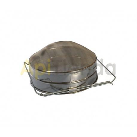 Filtros para miel Filtro inox 25cm extensible Filtro ovalado ideal para filtrado de miel. Diámetro 25cm, extensible hasta 45cm