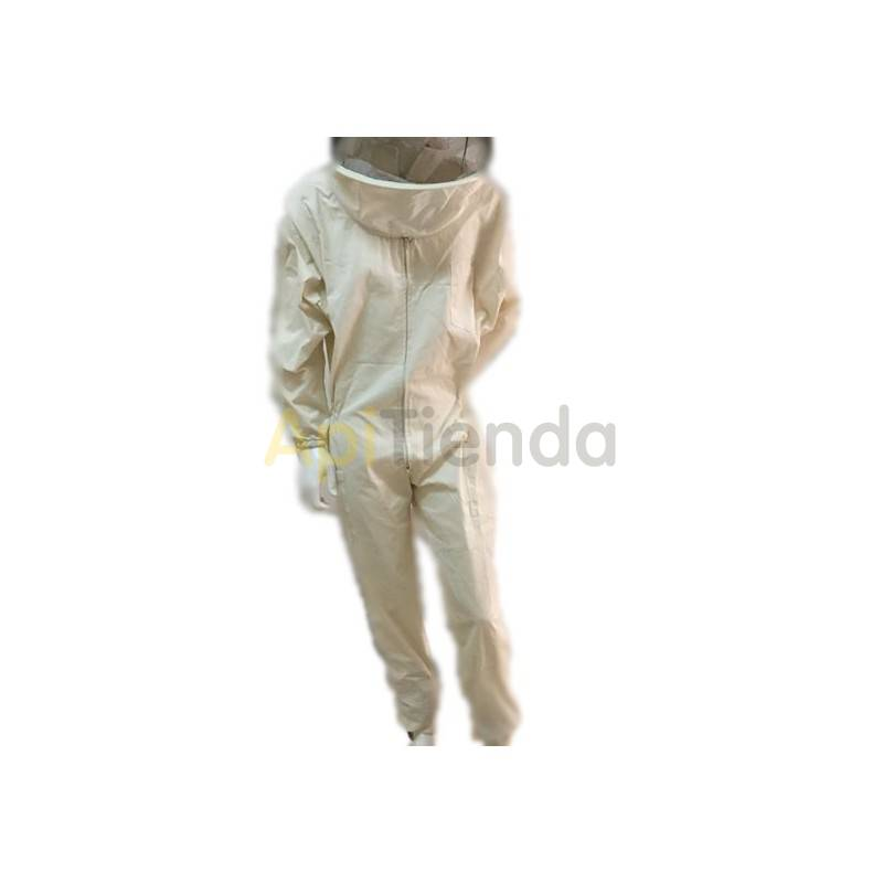 Vestuario Buzo algodon fuerte Buzo apicultor algodón con careta redonda. Tela fuerte Careta de repuesto - ref.101527