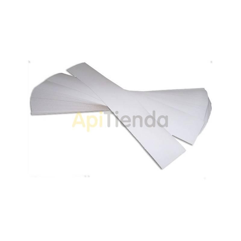 Sanidad Tiras de Celulosa - LYSON Tiras de carton- celulosa de 1,75 mm de grosor Medidas: 300mm de largo y 31mm de ancho El pr