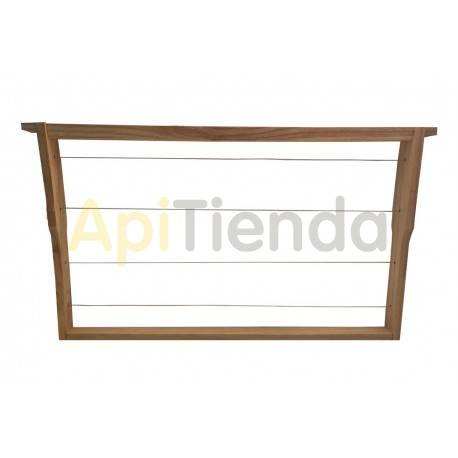 Accesorios y cuadros Cuadros Dadant Hoffman  Cuadros para colmenas Dadant con rebaje Hoffman, fabricados en madera y alambrados