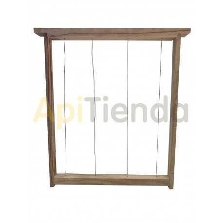 Accesorios y cuadros Cuadros colmena Layens Cuadros para colmenas Layens Fabricados en madera y alambrados. Medidas cuadro Lay