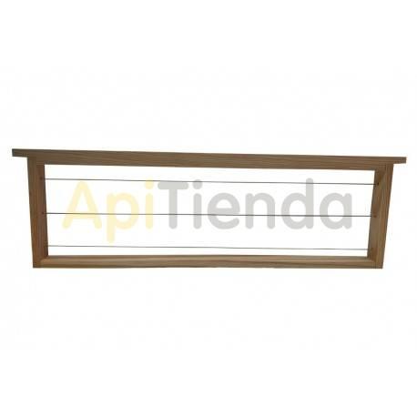 Accesorios y cuadros Cuadro media alza madera Cuadros de media alza fabricados en madera y alambrados. Tienen altura total de