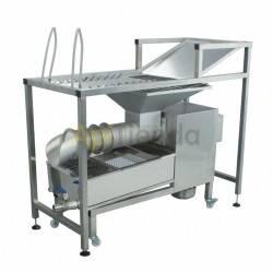 Desoperculadora manual con prensa de opérculo 50kg/h