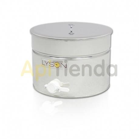Maduradores y cubos  Madurador  30L (aprox. 42kg) Optima Madurador de miel fabricado en acero inoxidable con tapadera de acero i