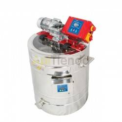 150L heated honey mixer-homogenizer, Honey mixer-homogenizer with 150L automatic thermostat. This equipment is designed to disso