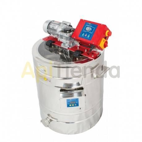 Maquinaria Mezclador-homogenizador de miel calefactado 150L Mezclador-homogenizador de miel con termostato automático de 150L.