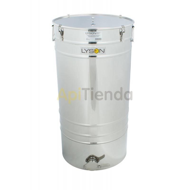Maduradores y cubos  Madurador 150L (aprox. 205kg) Premium Los Maduradores Premium Line están formados por: una tapa, tanque, g