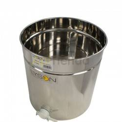Maturer 200L (approx. 270kg) Optima, Stainless steel honey ripenerHoney depositCapacity of 200 litres, Maturers and cubes, , LYS