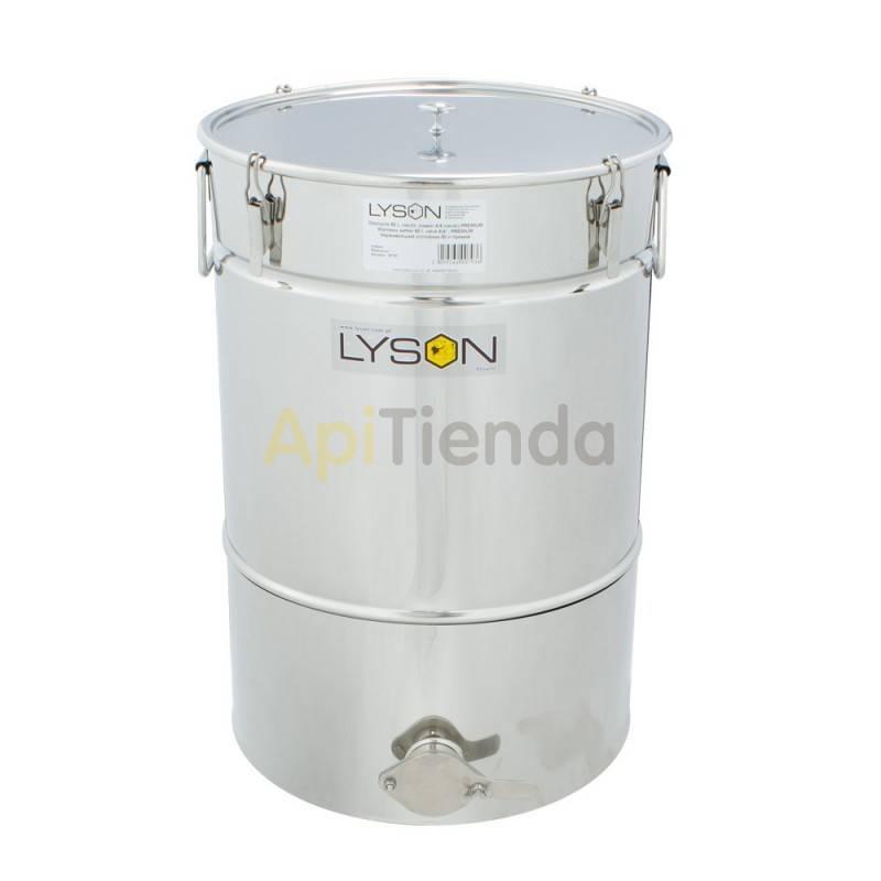 Maduradores y cubos  Madurador 50L (aprox. 70kg) Premium Los Maduradores Premium Line están formados por: una tapa, tanque, gri