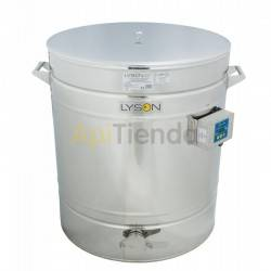 200L Heated Maturer (270kg), If you do not use ripener, after packing and resting a little honey can form on top foam and raise