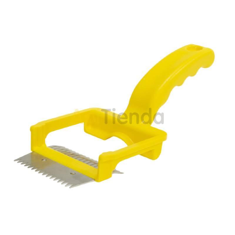 Desoperculado Peine Lyson con puas dobles Peine de desopercular del fabricante Lyson - Mango de plástico - Fácil de usar - Pú