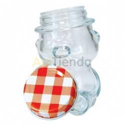 Bote cristal OSO 70ml - tapa incluida Pack 8ud