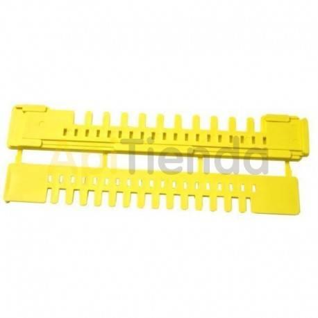 Herrajes Piquera Plástico Para Nucleo LYSON 185 mm Piquera de plástico, para núcleos 185 mm de largo.
