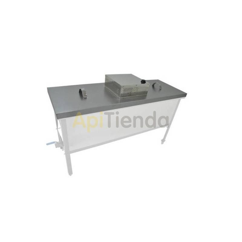 Fundidoras de cera Tapa calefactable para cubeta standart 1000mm Tapa calefactable para cubeta standart de 1000mm Se adapta a l