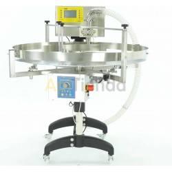 Envasadora con mesa rotativa y modulo en engranajes cilindricos REMIUM Line