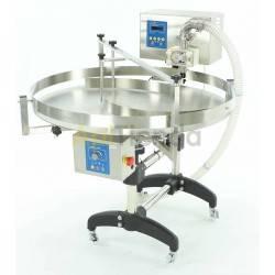 """Envasadora con mesa rotativa y modulo en engranajes cilindricos """"CLASSIC Line"""""""
