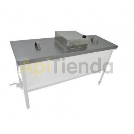 Fundidoras de cera Tapa calefactable para cubeta standart 1500mm  Tapa calefactable para cubeta standart de 1500mm Se adapta a