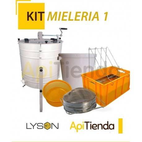 Ofertas KIT MIELERIA 1 -Extractor 4 cuadros universal, tangencial, manual ref W2027BB -Cubeta desopercular, filtro inox h-300 r