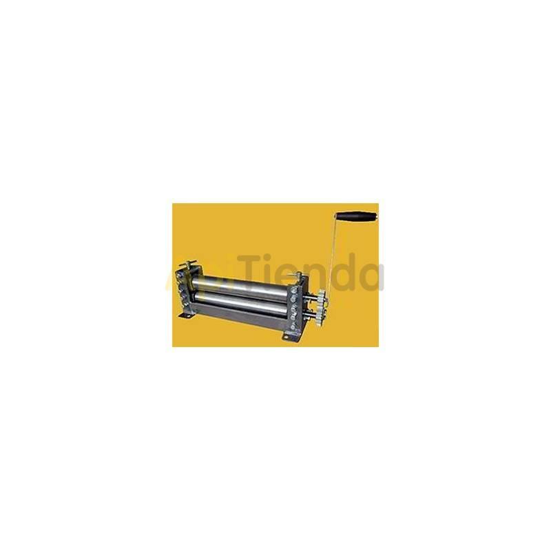 Estampado de cera Prelaminadora de cera rodillo liso, manual Laminadora de cera manualRodillo liso Hoja de cera lisa de 0,8-2mm
