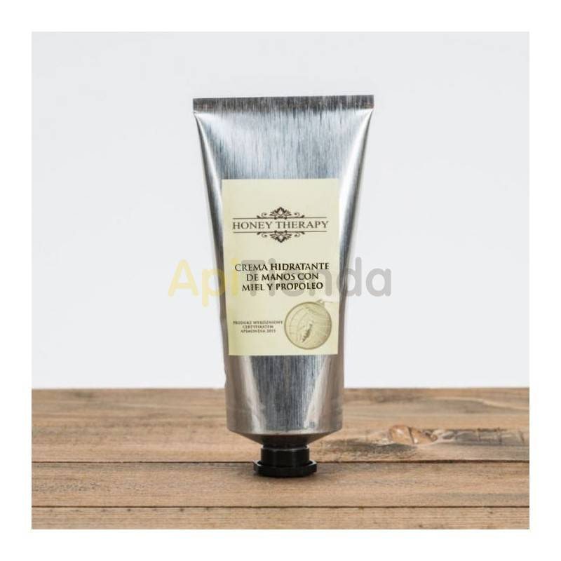 Belleza Crema de manos con Miel y Propoleo -70ml- Gracias su alto contenido de manteca de karité (20%), es un excelente cosmétic