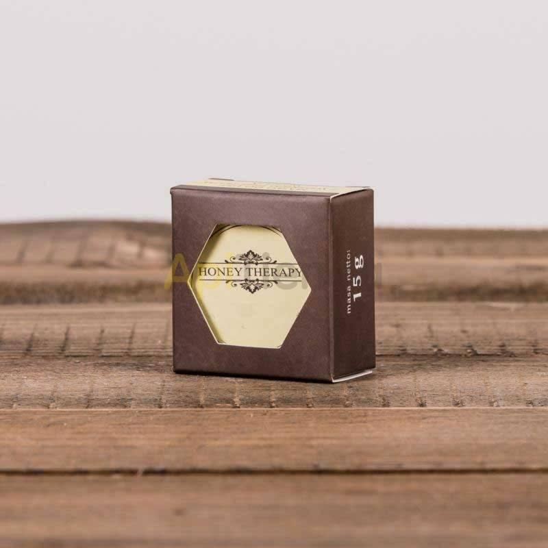 Belleza Protector labial DULCE AFRODISIACO -15g- La cera de abejas como uno de los ingredientes para proteger sus labios, contie