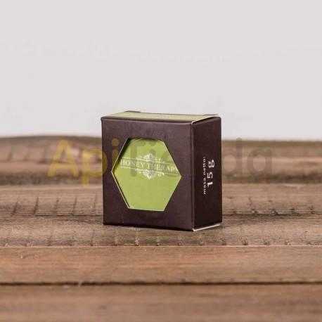 Belleza Protector labial FRUTA PROHIBIDA -15g- La cera de abejas como uno de los ingredientes para proteger sus labios, contiene