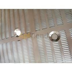 Cazapolenes/Rejillas de propoleo Rejilla propoleo mod.2 Con perforaciones cónicas.  Se coloca debajo de la entretapa en la par