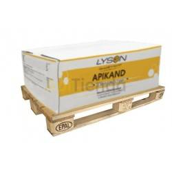 Apikand with Pollen, Pallet (960 kg), Apikand feed with pollen, full pallet 960 kg.Without flours or yeasts, thus eliminating an