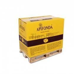Apifonda Pallet feed (800 kg), Apifonda is a feed for pasty bees, with a spectrum of sugars specific to the bee, its main compon