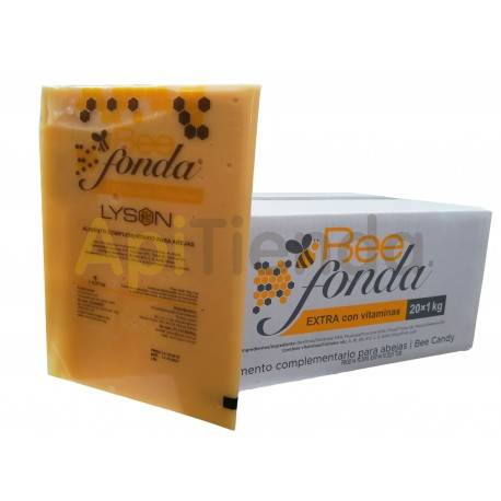 Alimentacion Alimento BeeFonda Extra Vitaminas 1kg (Caja 20kg) BEE FONDA EXTRA (CON VITAMINAS)Un excelente alimento para estimu