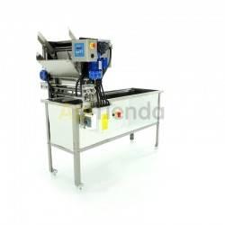 Desoperculadoras Desoperculadora automática con cubeta Langstroth/Dadant Desoperculadora automatica para cuadro Langstroth o Dad