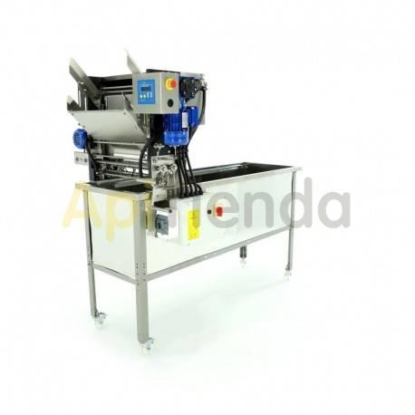 Desoperculadora automática, 220V o 380V, con cubeta Langstroth/Dadant
