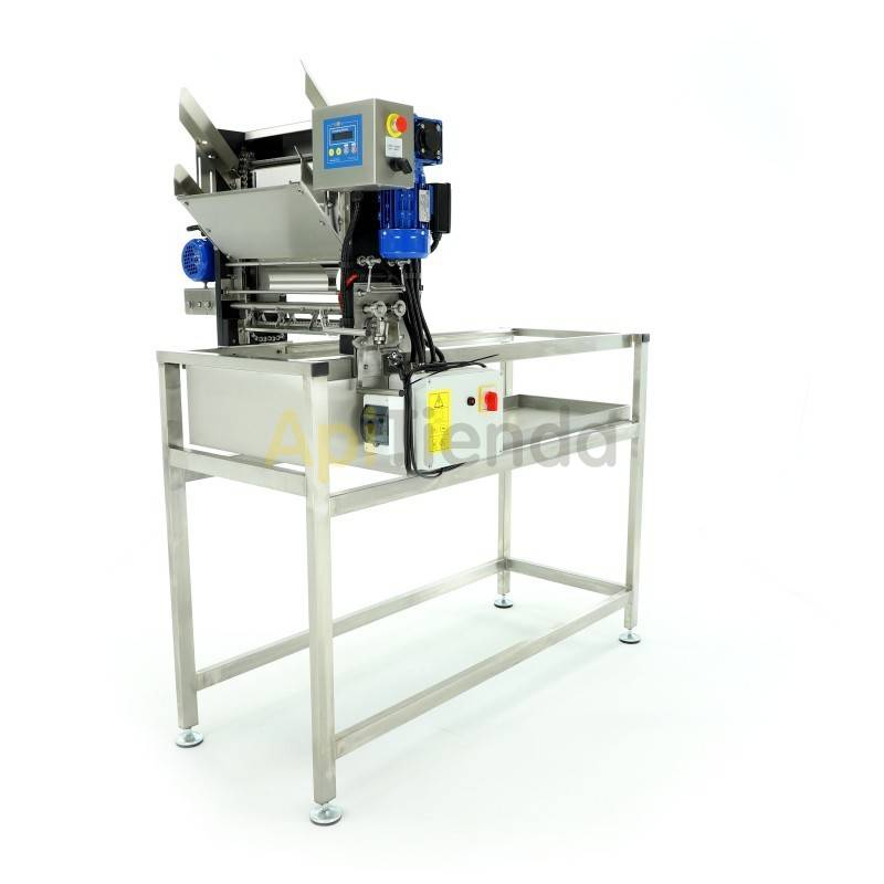 Desoperculadoras Desoperculadora automática con carriles, Langstroth/Dadant PARÁMETRO TÉCNICOS DEL DISPOSITIVO: -Cuchillas eléc