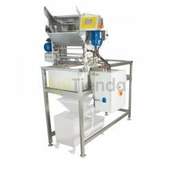 Desoperculadora automática cuchillas con anticongelante + prensa de opérculos 100kg/h Premium