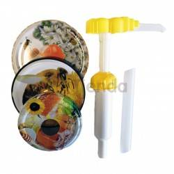 Dosificador de miel 3 tapas