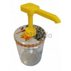 Simple Honey Dispenser Without Tapas, Honey dispenser Set includes only dispenser and extension tube to collect honey from the b