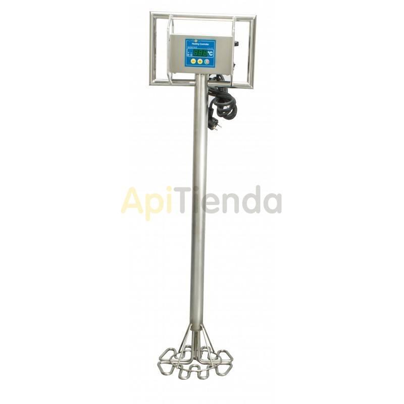 Resistencias y cámaras calientes Resistencia eléctrica Ø250mm  Alimentación 220V Potencia 2×400W Medidas Ø25cm×101cm Termost