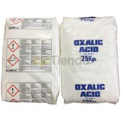 Ácido Oxálico 99%, saco - 25 KG