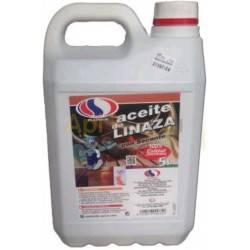 Colmenar Aceite de linaza sin secante 5L Aceite de linaza sin secante Capacidad 5 litros Ideal para tratar a las colmenas o núcl