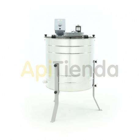 Extractores Extractor 4 cuadros UNIVERSAL tangencial, eléctrico MINIMA Un extractor de miel eléctrico de 4 cuadros se convertirá