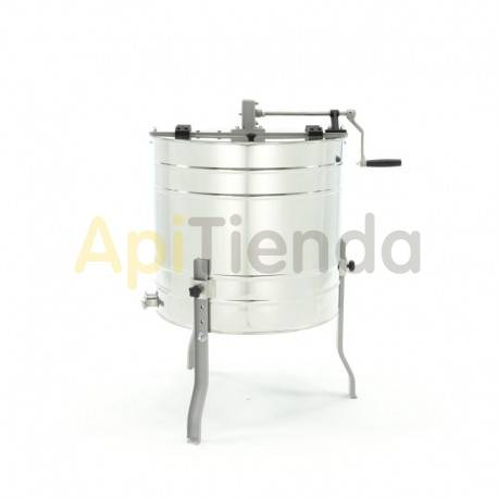 Extractores Extractor 6 cuadros Langstroth, tangencial, manual Optima Extractor manual tangencial de 6 cuadros Langstroth. Linea